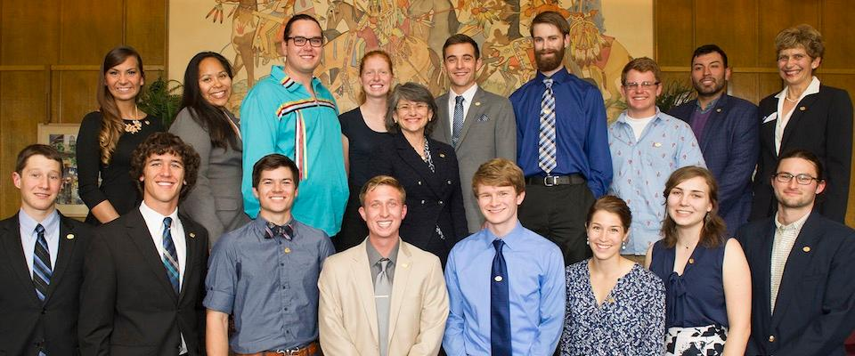 MSU students finish strong year of major scholarship wins.